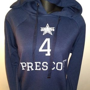 Dallas Cowboys Prescott Women's Jersey Hoodie